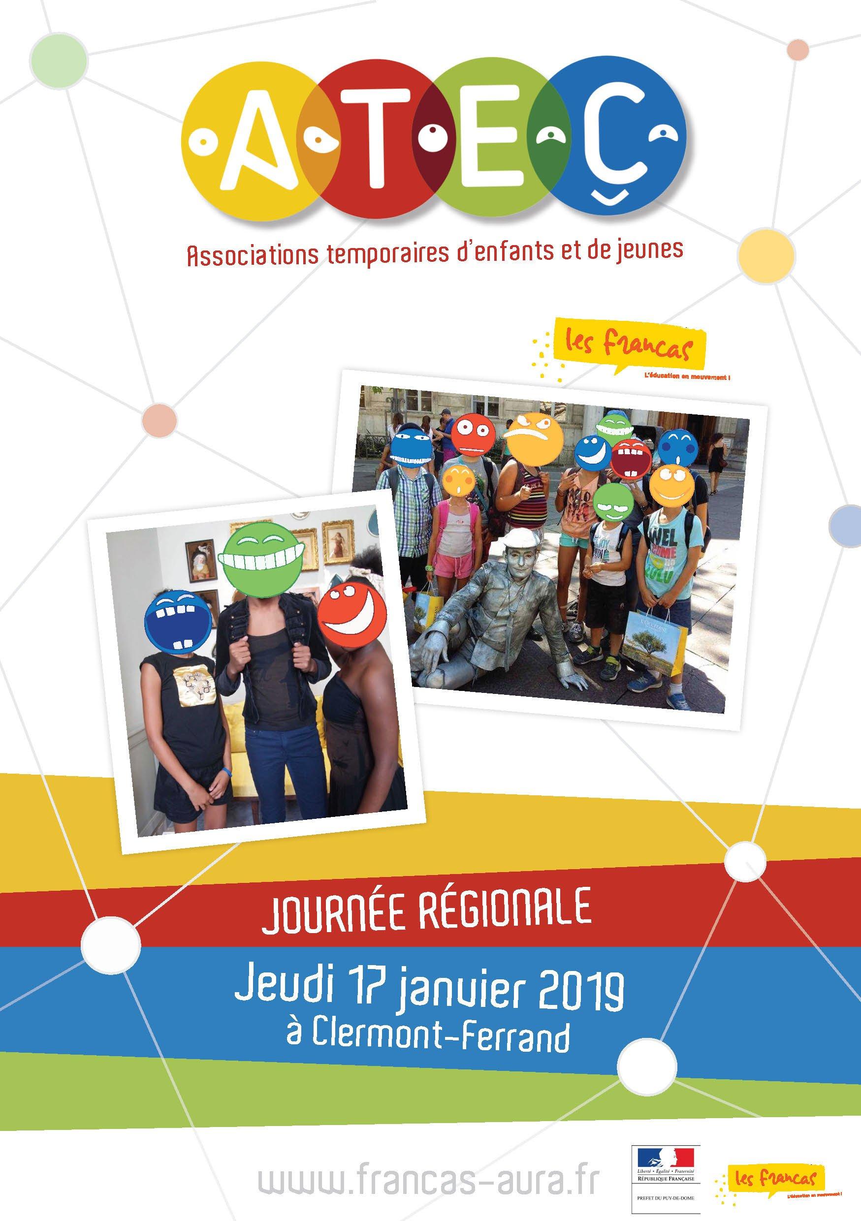 Journée régionale des ATEC : associations temporaires d'enfants et de jeunes